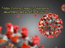 Today Corona Cases In Telangana