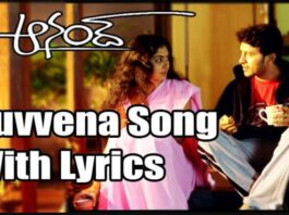 Nuvvena Na Nuvvena Song Lyrics
